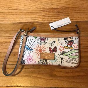 Disney Dooney & Bourke Wristlet Wallet